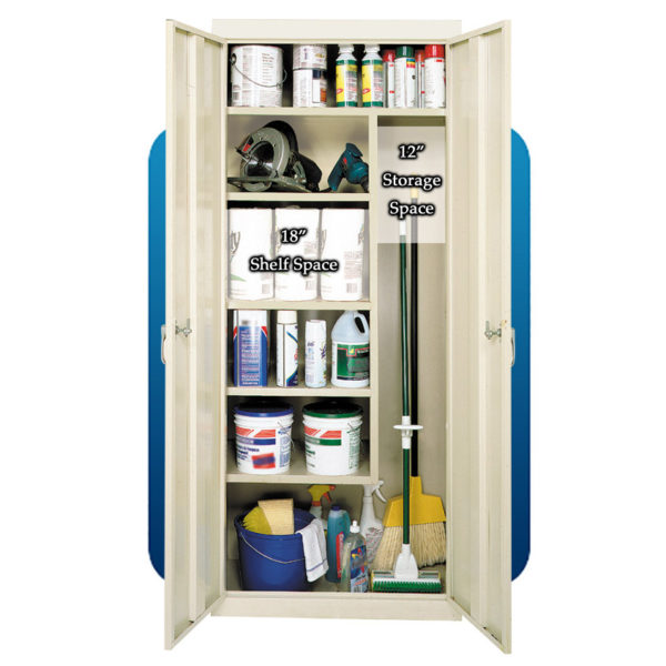 J-318 Ultimate Utility Janitor Cabinet